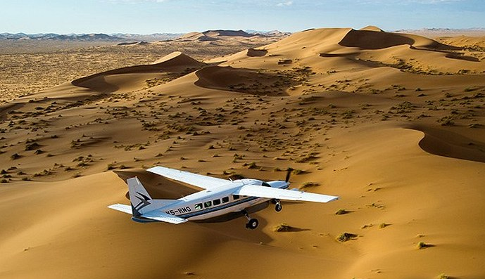 Fly-In-Safari in Namibia mit Visiossuche.